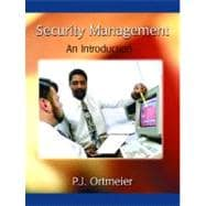 Security Management : An Introduction