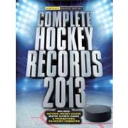 Complete Hockey Records Second Edition
