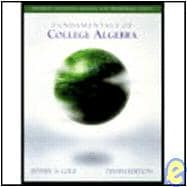 S.S.M. Fundamentals Of College Algebra