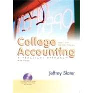 College Accounting 1-12 and Study Guide and Working Papers and DVD and Envelope Package