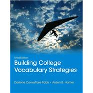 Building College Vocabulary Strategies Plus MyReadingLab -- Access Card Package