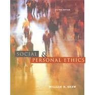 Social and Personal Ethics With Infotrac