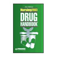 Nursing Drug Handbook, 2003