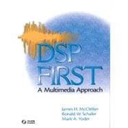 DSP First A Multimedia Approach