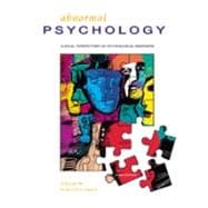 Halgin Abnormal Psychology and MindMap CD ROM
