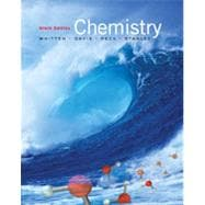 Student Solutions Manual for Whitten/Davis/Peck/Stanley's Chemistry, 9th
