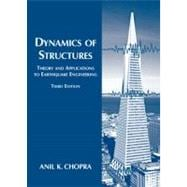 Dynamics of Structures : Theory and Applications to Earthquake Engineering