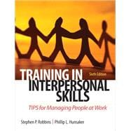 Training in Interpersonal Skills TIPS for Managing People at Work
