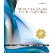 Allyn & Bacon Guide to Writing, The: MLA Update Edition