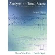 Analysis of Tonal Music A Schenkerian Approach