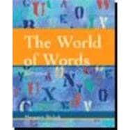 The World of Words Vocabulary for College Students