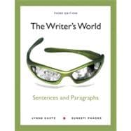 The Writer's World Sentences and Paragraphs