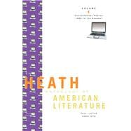 The Heath Anthology of American Literature: Contemporary Period: 1945 to the Present
