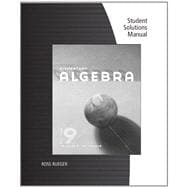 Student Solutions Manual for McKeague's Elementary Algebra, 9th