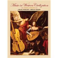 Audio CD, Volume 1 for Wright/Simms' Music in Western Civilization, Media Update