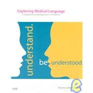 Medical Terminology Online for Exploring Medical Language (User Guide, Access Code and Textbook Package)