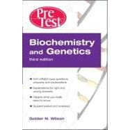 Biochemistry and Genetics PreTest� Self-Assessment and Review, Third Edition