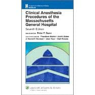 Clinical Anesthesia Procedures of the Massachusetts General Hospital Department of Anesthesia and Critical Care, Massachusetts General Hospital, Harvard Medical School
