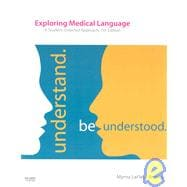 Exploring Medical Language - Text and Audio CDs Package, 7th Edition