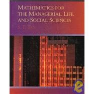 Mathematics for Management, Life, and Social Sciences