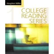 Houghton Mifflin College Reading Series: Bk. 1