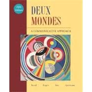 Deux mondes: A Communicative Approach Student Edition with Online Center Bind-In Card