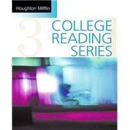 Houghton Mifflin College Reading Series, Book 3