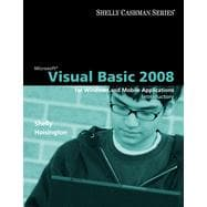 Microsoft Visual Basic 2008: Introductory Concepts and Techniques