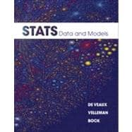 Stats : Data and Models Plus MyStatLab Student Access Code Card