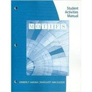 Student Activities Manual for Jansma/Kassen's Motifs