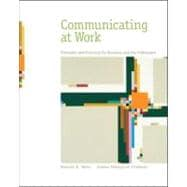 Communicating at Work : Principles and Practices for Business and the Professions