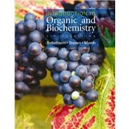 Introduction to Organic and Biochemistry (with CD-ROM and InfoTrac)