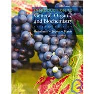 Introduction to General, Organic, & Biochemistry (Non Info Trac Version)