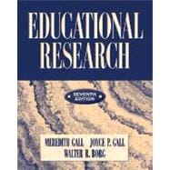 Educational Research : An Introduction