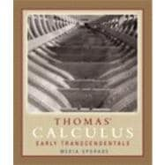 Thomas' Calculus, Early Transcendentals, Media Upgrade Value Package (includes Just-In-Time Algebra and Trigonometry for Early Transcendentals Calculus)