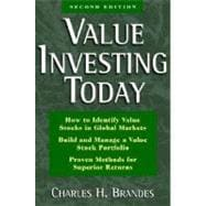 Value Investing Today