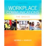Workplace Communications The Basics Plus MyWritingLab with Pearson eText -- Access Card Package