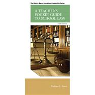 A Teacher's Pocket Guide to School Law