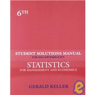 S.S.M. Statistics For Management & Economics