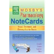 Mosby's Pharmacology Notecards : Visual, Mnemonic, and Memory Aids for Nurses