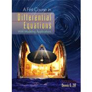 A First Course in Differential Equations, 9th Edition
