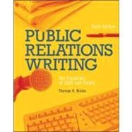 Public Relations Writing : The Essentials of Style and Format