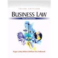 Package Business Law Text & Exercises