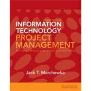 Information Technology Project Management, 3rd Edition