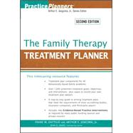 The Family Therapy Treatment Planner, 2nd Edition