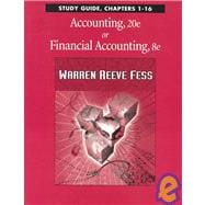 Study Guide Chpts 1-16 Accounting