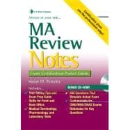 MA Review Notes: Exam Certification Pocket Guide (Book with Mini CD-ROM)