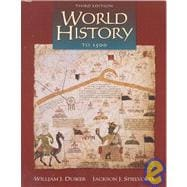 World History to 1500 (Non Info Trac Version)