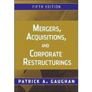 Mergers, Acquisitions, and Corporate Restructurings 9780470561966R