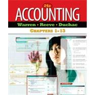 Accounting, Chapters 1-13, 24th Edition